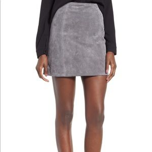 Blank NYC A-Line Suede Skirt - Size 28 - NWOT